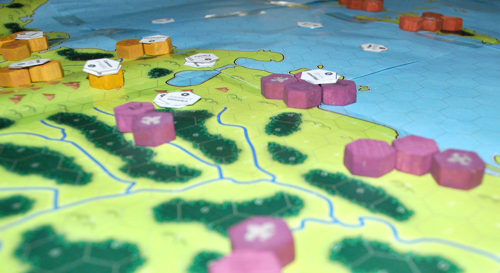 Testing board and map design for strategy war games sovereign the player in the amazon is only in contact in one near the andes gumiabroncs Gallery
