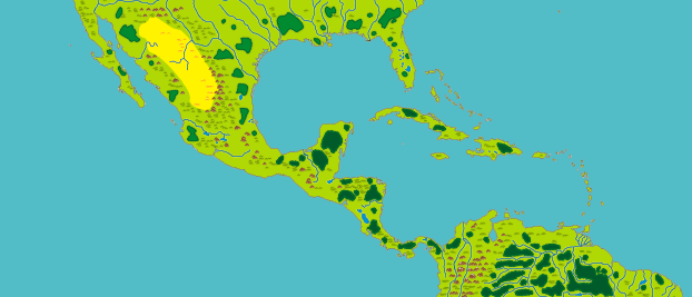 Caribbean Map for download - Sovereign Board Game